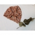 Zoofs - Turban ivy flower rust knotted bow - Maat 1-6 maand